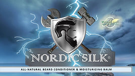 "Nordic Silk® is a NuBork Skin product that is all-natural beard conditioner & moisturizer. A hemp-based balm with a soft vanilla-almond aura ""touched with a hint of lime"" scent that deeply conditions and promotes healthy, stellar growth for ALL beard types. While treating your beard, it simultaneously moisturizes your skin while greatly reducing itchiness without the oily residue. Nordic Silk is specifically designed to foster thick and lush growth with an accentuating godlike sheen. It can also be comfortably used in either dry, or African American/ethnic hair in addition to being used solely as a daily moisturizer."