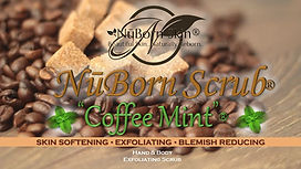 Nūborn Coffee Mint Scrub® is a NuBorn Skin product that is aall-natural moisturizing exfoliant that promotes advance skin restoration and conditioning by way of superior removal of dead skin cells. Nūborn CoffeeMint® fosters amazingly moisturized and softer skin, an even complexion and in many cases, noticeable reduction in the appearance of cellulite and increased energy. The high caffeine content enhances blood flow in the skin as well as antioxidants and inflammation reducing properties.