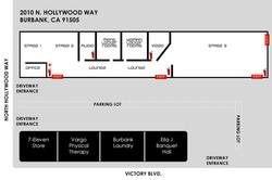 Starwest Studios Floor Plan
