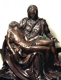 Bronze Michelangelo Pieta