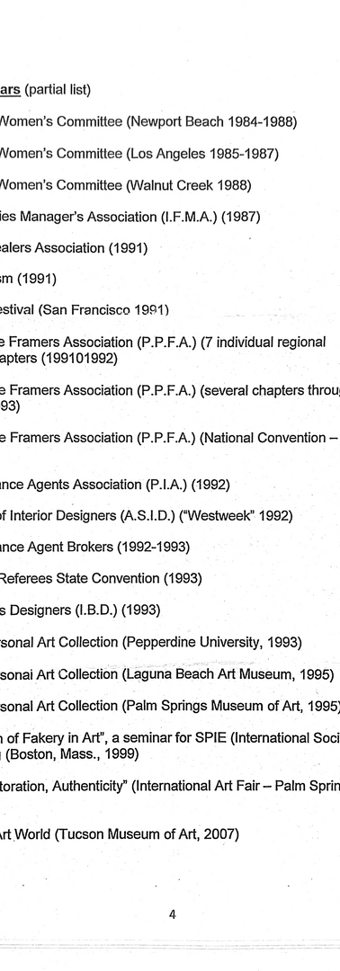 Appraiser Qualifications Page 4
