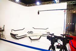 White Cyclorama