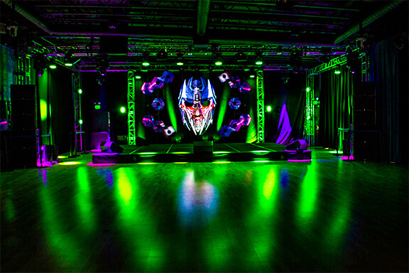 DGX Mask Led Display