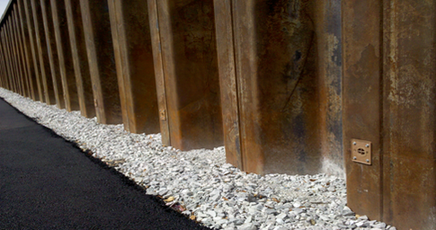 Weep Hole Wick Drains For Steel Vinyl Sheet Piling