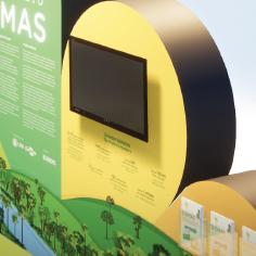 CNA - Estande Biomas
