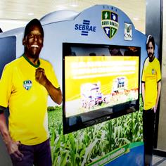 Time Agro Brasil – Tótem Aeroporto Salgado Filho