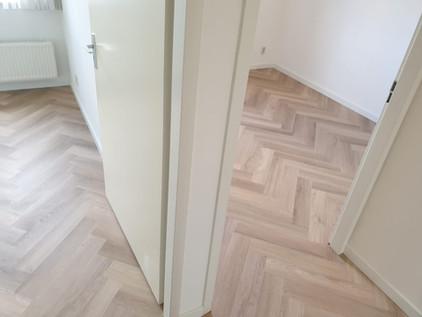 PVC Visgraat vloer - Woning particulier Susteren