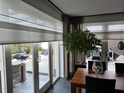Vouwgordijnen - Woning particulier Heerlen