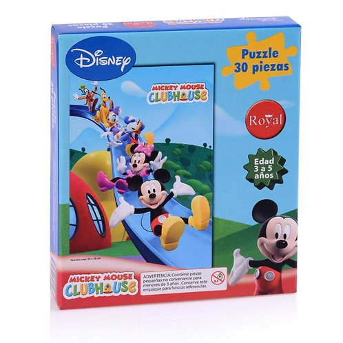 Puzzle infantil mickey mouse