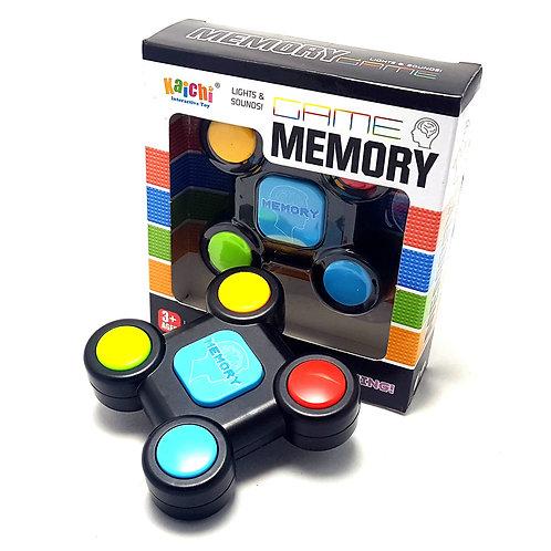 Juego de memoria tipo Simon con 4 luces
