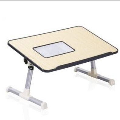 Mesa plegable con cooler para laptop