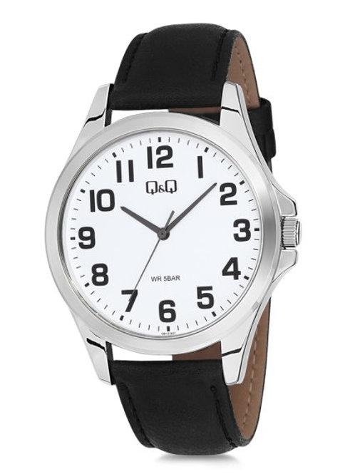 Reloj Q&Q malla cuero