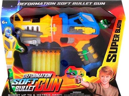 Pistola dardos de espuma