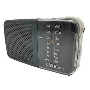 Radio Cmik icf-7 am-fm