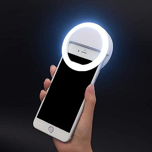 Aro de luz para selfie