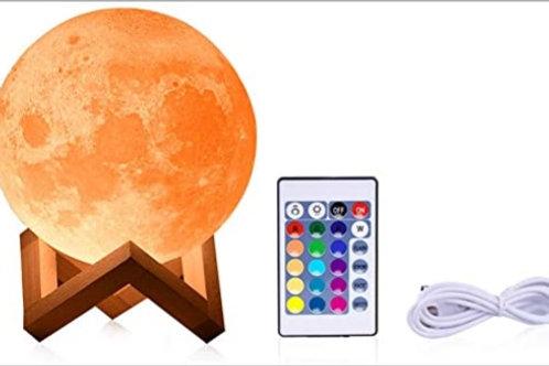 Veladora Luna con control remoto
