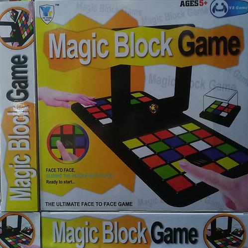 Magic block game.