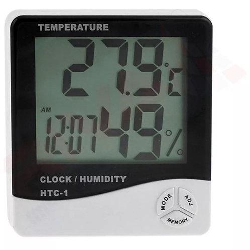 Reloj despertador con control de humedad