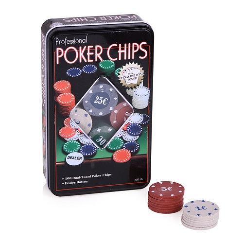 Fichas de póker