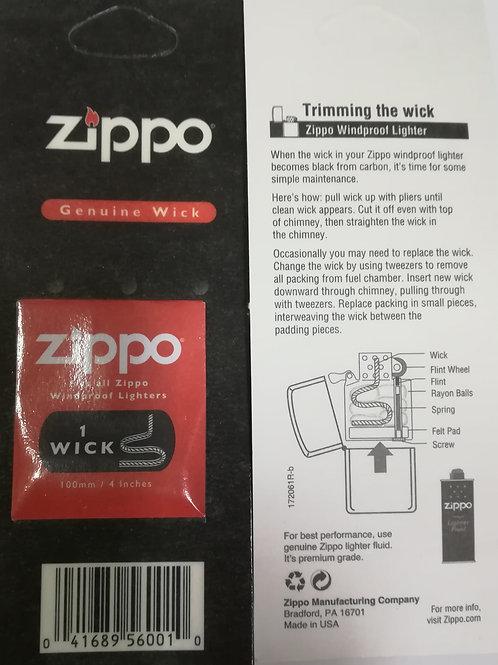 Mecha original Zippo. 1 unidad.