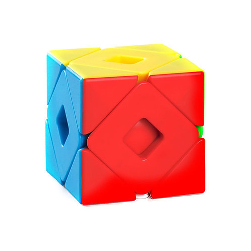 Cubo Rubik skewb doble moyu