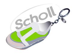 School portachiavi