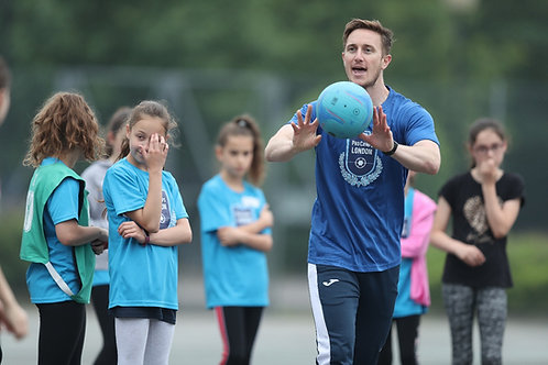 Mon Lunchtime Netball Y1-Y3 12:30-1:00