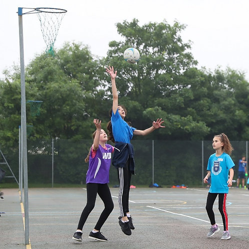 12+ Netball Training at Aldenham School