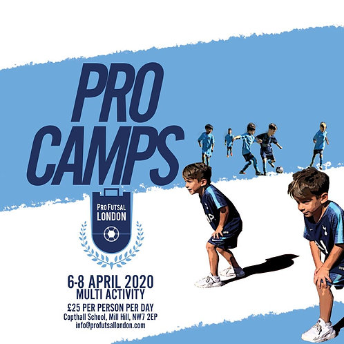 April Camp - 1 Day