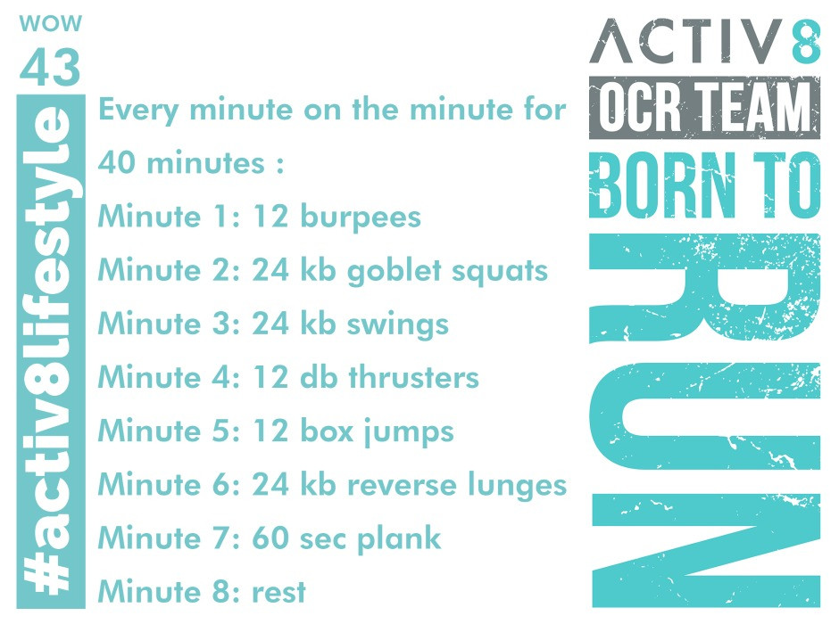 Activ8 performance ocr wod crossfit