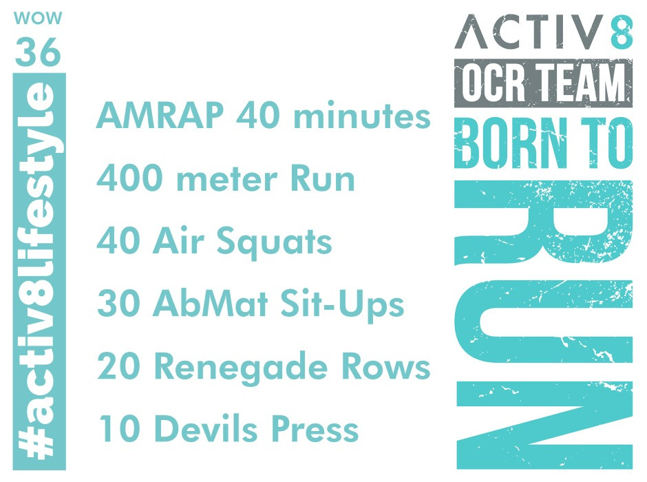 Activ8 performance ocr wod