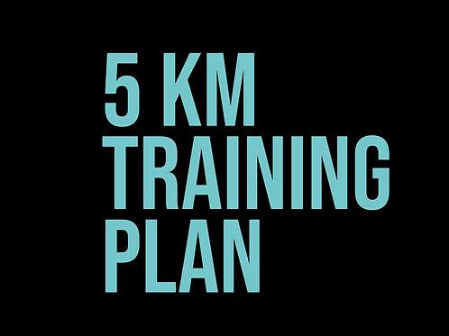 5km L1 Loopschema voor beginners
