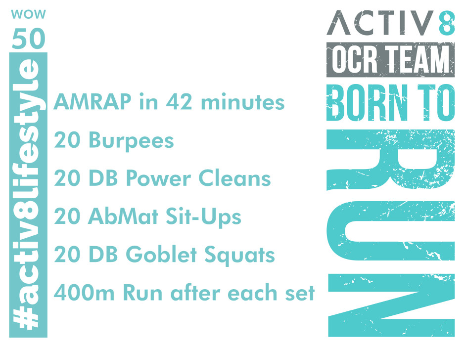 Activ8 performance ocr wod WOW crossfit