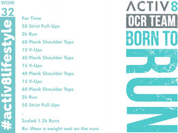 WOW 32 OCR, Trail running workout