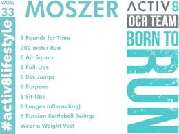 WOW 33 OCR, Trail running workout