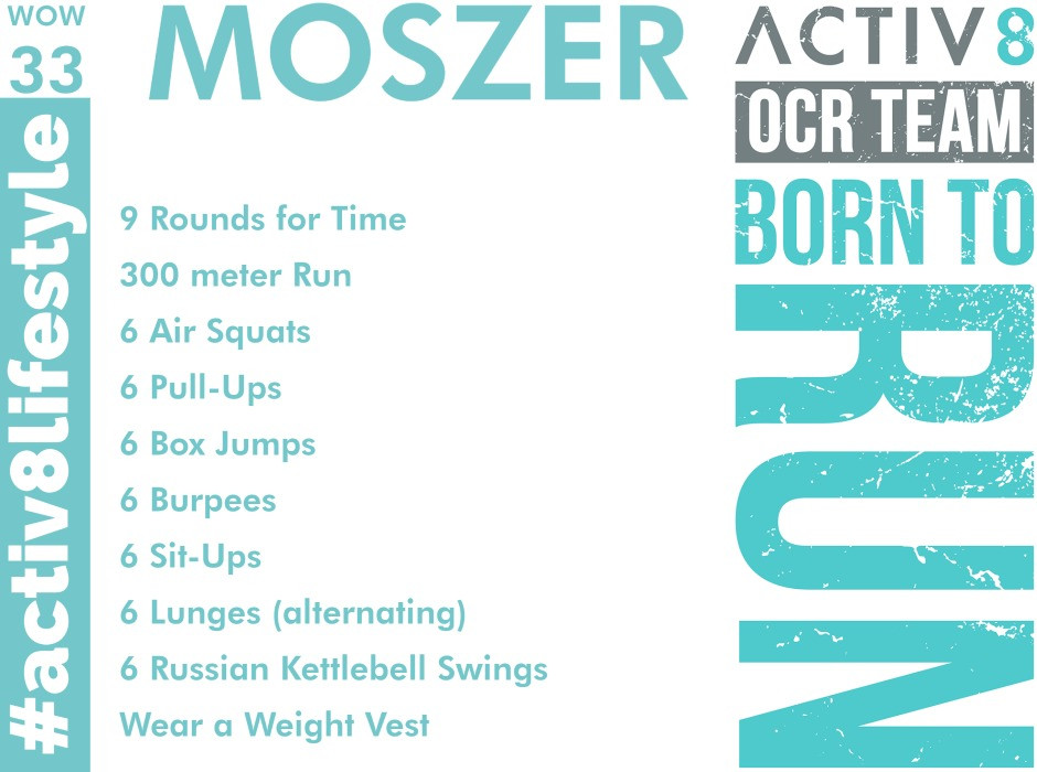 Trail running wow workout ocr wod  33