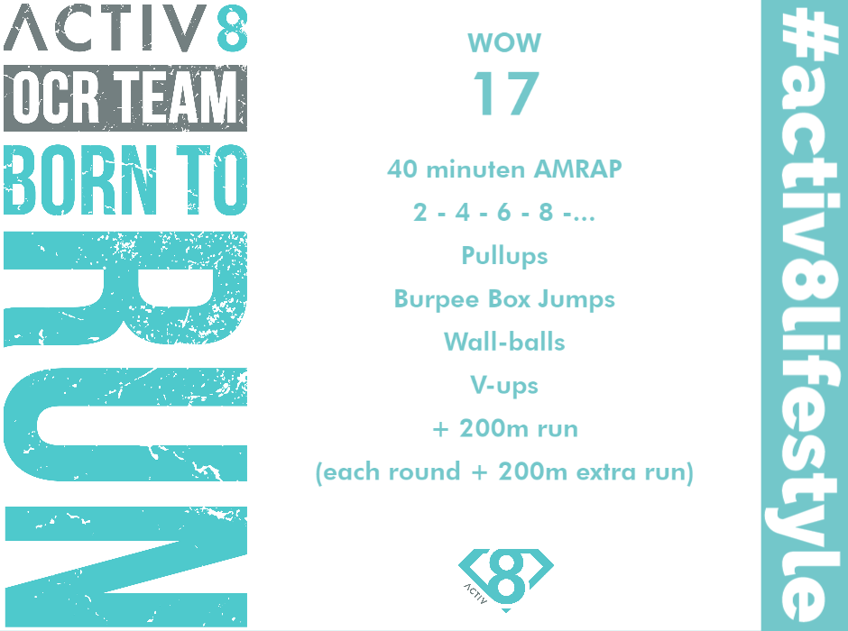 Trail running wow workout ocr wod 17