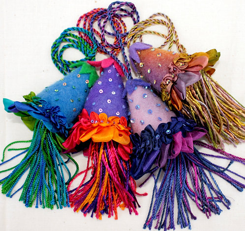 Frilly Tassels (Pattern ONLY)