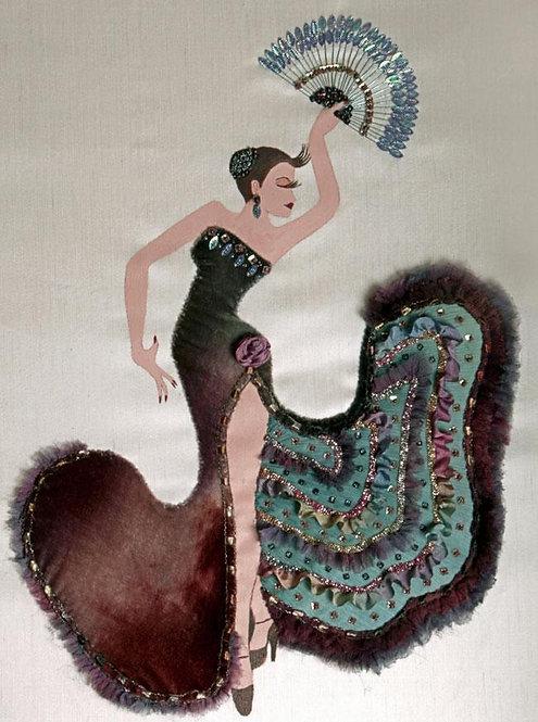 Flamenco Dancer (Pattern & Panel ONLY)