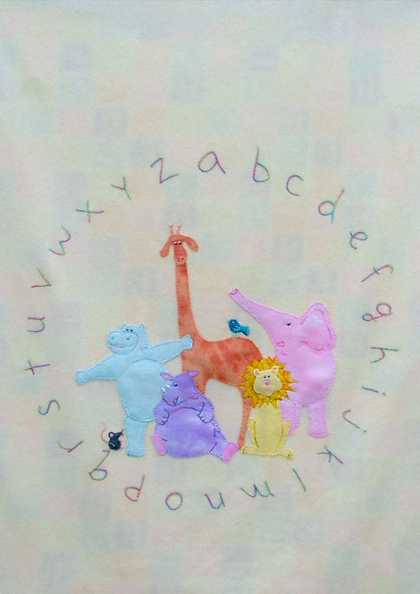 Our Animal Alphabet (Pattern ONLY)