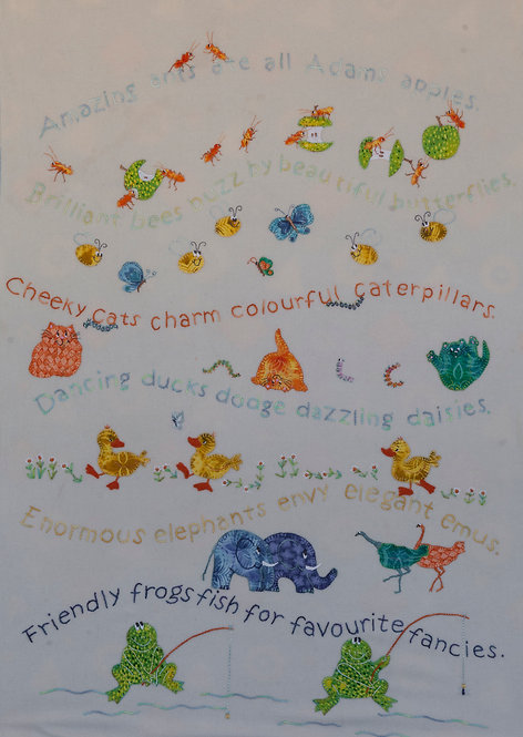 A.B.C Storybook (Applique & Pattern ONLY)