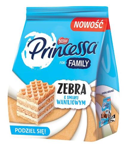 Gaufrettes recouvertes de crème à la vanille (73,6%).