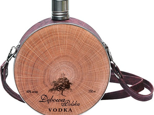 Vodka DEBOWA dans une gourde 35cl - 40°
