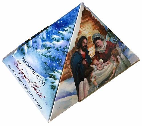 Ensemble de réveillon de Noël pyramidal
