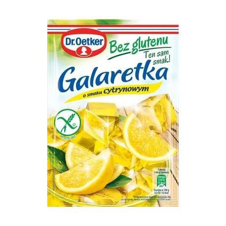 Gelée au citron [sans gluten] (GALARETKA)