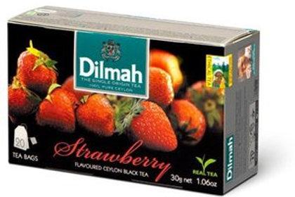 Thé noir de Ceylan aux arômes de fraise.