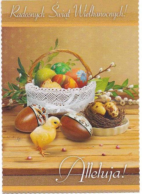 Carte postale de Pâques (P 8)