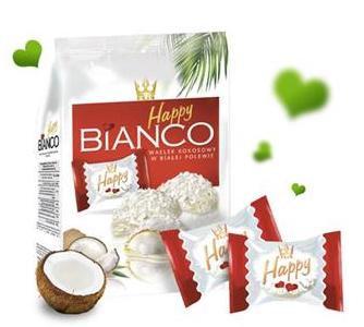 Gaufrettes à la noix de coco. (wafle)