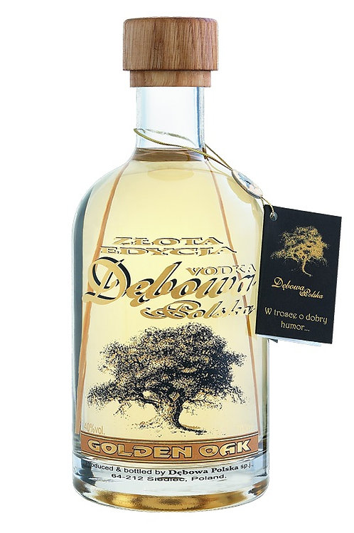 Vodka DEBOWA chêne d'or 70cl - 40°