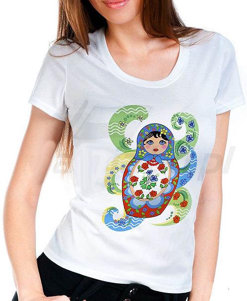 T-shirt style matriochka